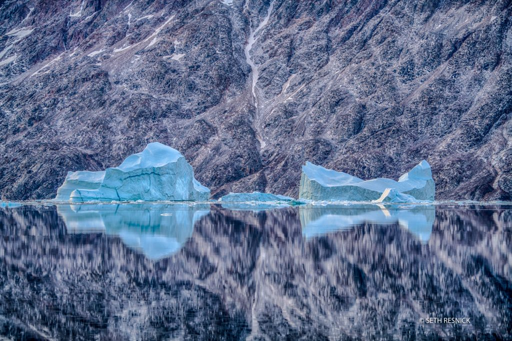 Travel Photography Workshop in Greenland with Seth Resnick and John Paul Caponigro. Sail the largest ice fjord in the world
